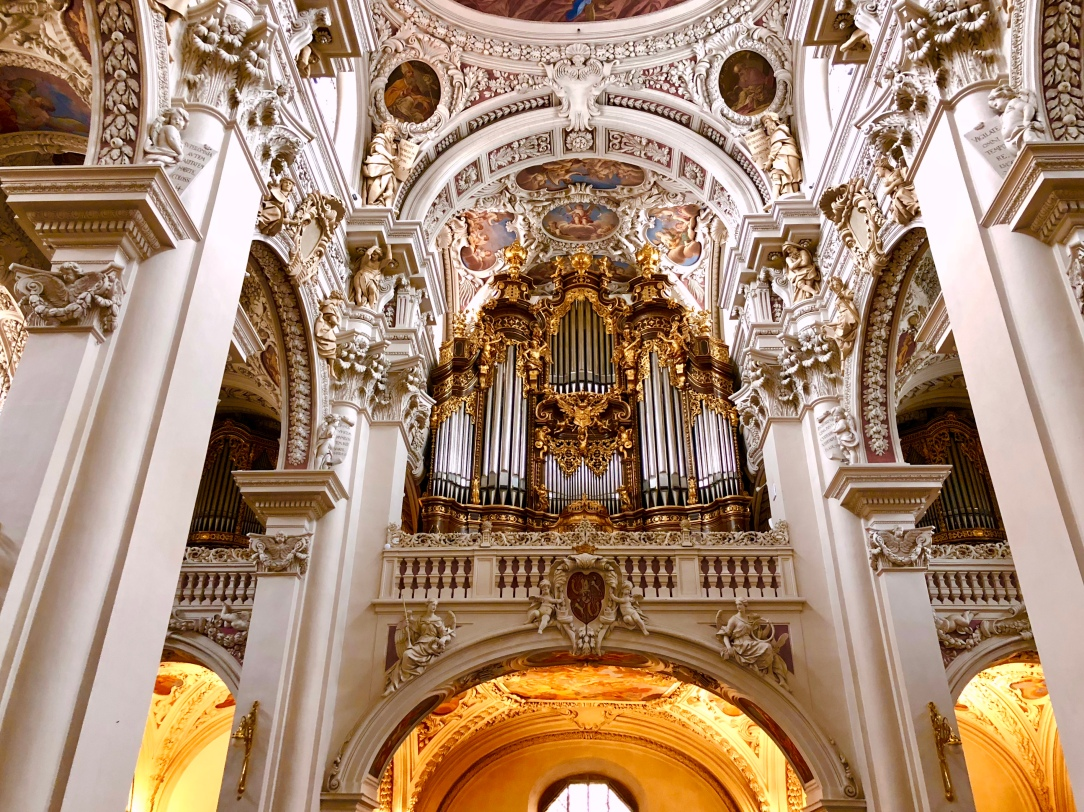 Some of the organ pipes at St. Stephens