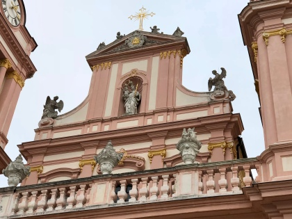 Abbey church exterior