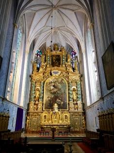 Abbey church sanctuary