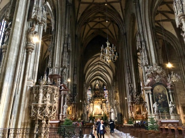Cathedral nave