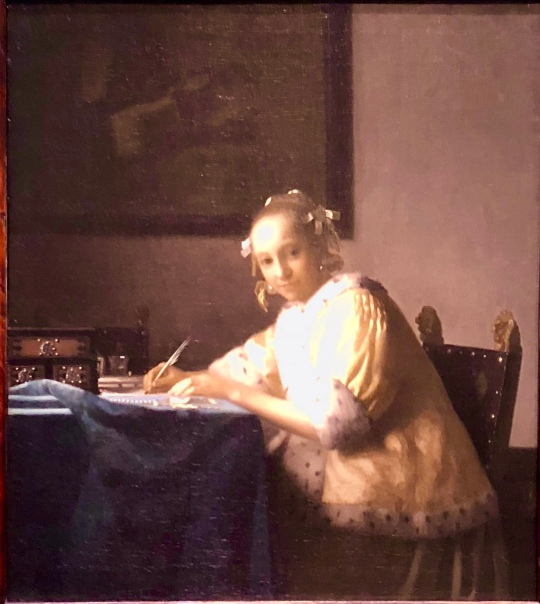 A Lady Writing a Letter