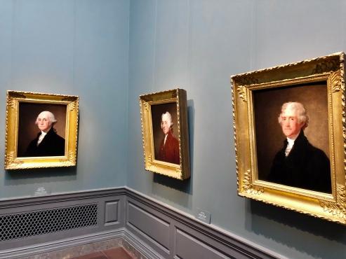 Washington, Adams, Jefferson