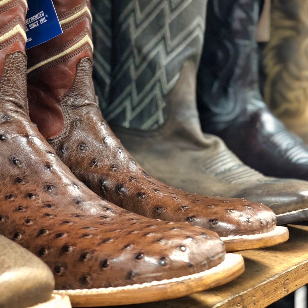 Cowboy boots @ Western Outdoor in Kalispell